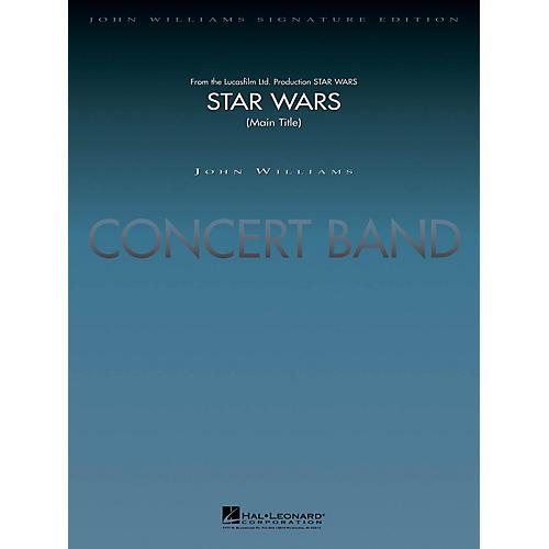 Hal Leonard Star Wars (Main Theme) (Deluxe Score) Concert Band Level 5-6 Arranged by Stephen Bulla-thumbnail