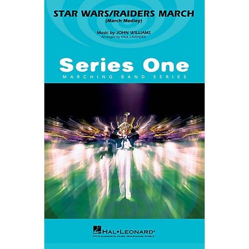 MCA Star Wars/Raiders March Marching Band Level 2 by John Williams Arranged by Paul Lavender-thumbnail