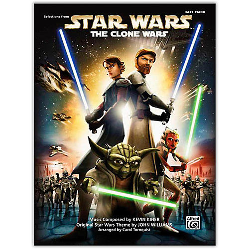 Alfred Star Wars: The Clone Wars Easy Piano Songbook
