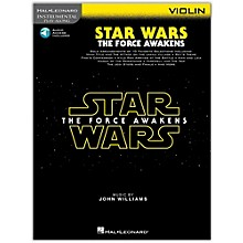Hal Leonard Star Wars: The Force Awakens - Violin Instrumental Play-Along,  Book with Online Audio