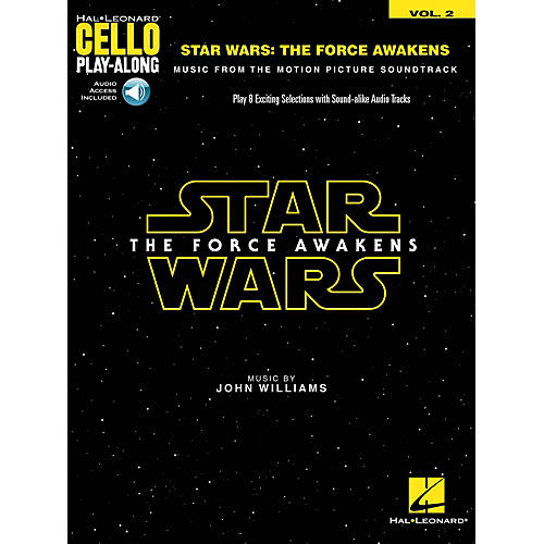 Hal Leonard Star Wars: The Force Awakens (Cello Play-Along Volume 2) Cello Play-Along Series Softcover Audio Online-thumbnail