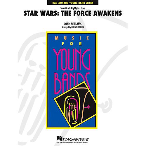 Hal Leonard Star Wars: The Force Awakens Concert Band Level 4 by Jay Bocook