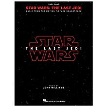 Hal Leonard Star Wars: The Last Jedi Music from the Motion Picture Soundtrack for Easy Piano