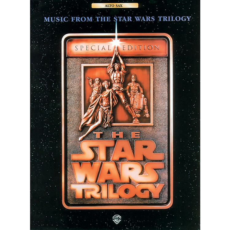 AlfredStar Wars Trilogy for Alto Sax Book