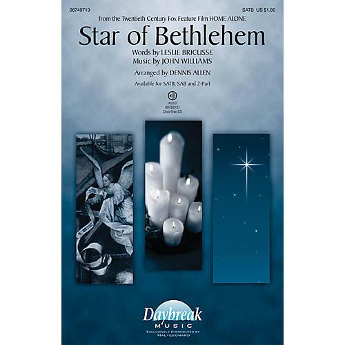 Daybreak Music Star of Bethlehem SATB arranged by Dennis Allen-thumbnail