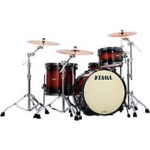 """Tama Starclassic Bubinga 3-Piece Shell Pack with 22"""" Bass Drum Natural Bubinga Burst"""