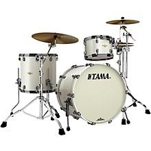 "Tama Starclassic Bubinga 3-Piece Shell Pack with 22"" Bass Drum Satin Pearl White"