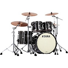 Tama Starclassic Bubinga 4-Piece Shell Pack Black Clouds and Silver Linings