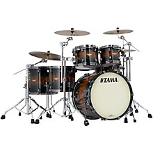 Tama Starclassic Bubinga Exotix 5-Piece Shell Pack with Black Nickel Hardware