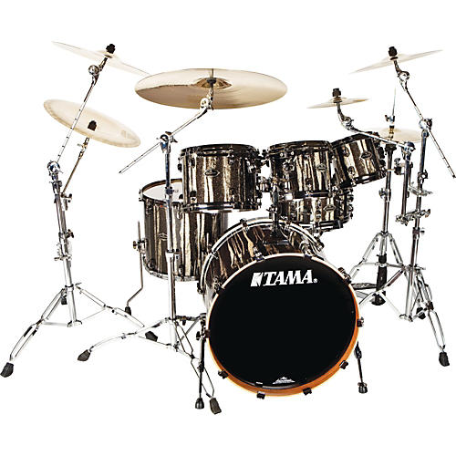 Tama Starclassic Limited Edition B/B 4-Piece Black Clouds Silver Linings Shell Pack w/ Free 8