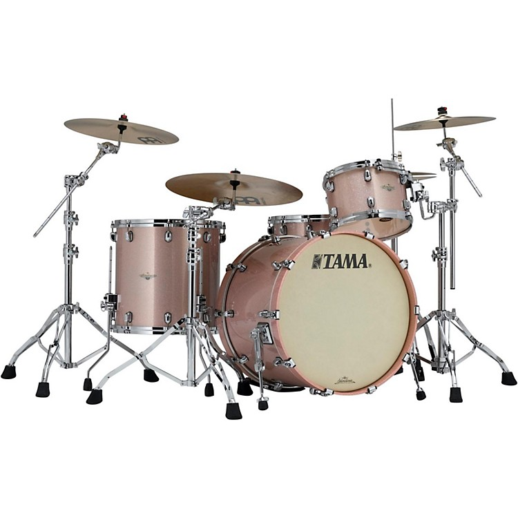 tama starclassic maple 3 piece shell pack with 22 bass drum pink champagne sparkle musician 39 s. Black Bedroom Furniture Sets. Home Design Ideas