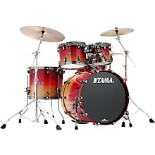 Tama Starclassic Performer B/B Limited Edition 4-piece shell pack Figured Ruby Fade