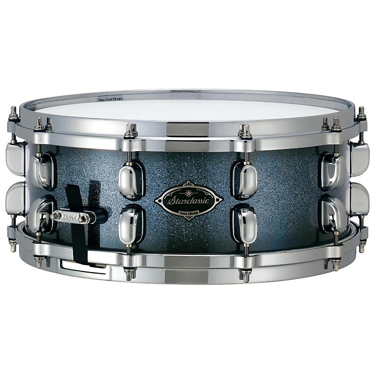 Tama Starclassic Performer Birch and Bubinga Snare Drum Indigo Sparkle Burst 6x13