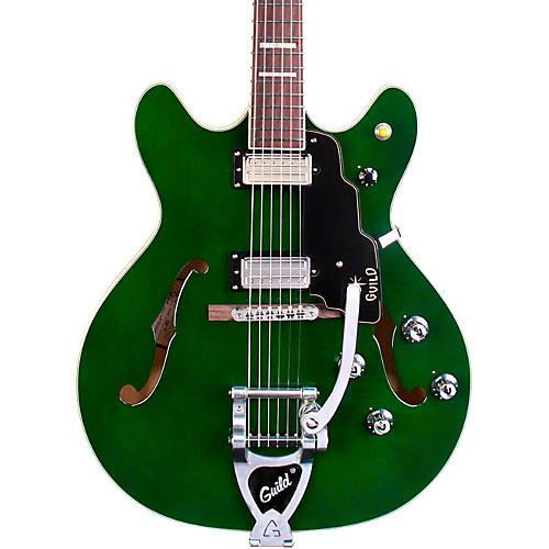 Guild Starfire V Semi Hollow Electric Guitar Emerald Green