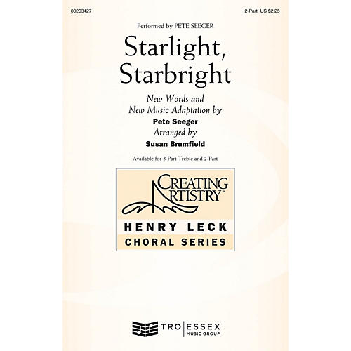 Hal Leonard Starlight, Starbright 2-Part arranged by Susan Brumfield-thumbnail