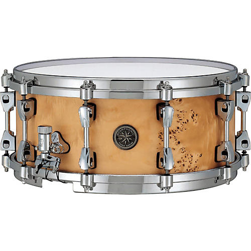 Tama Starphonic Snare Drum Satin Mappa Burl 6x14