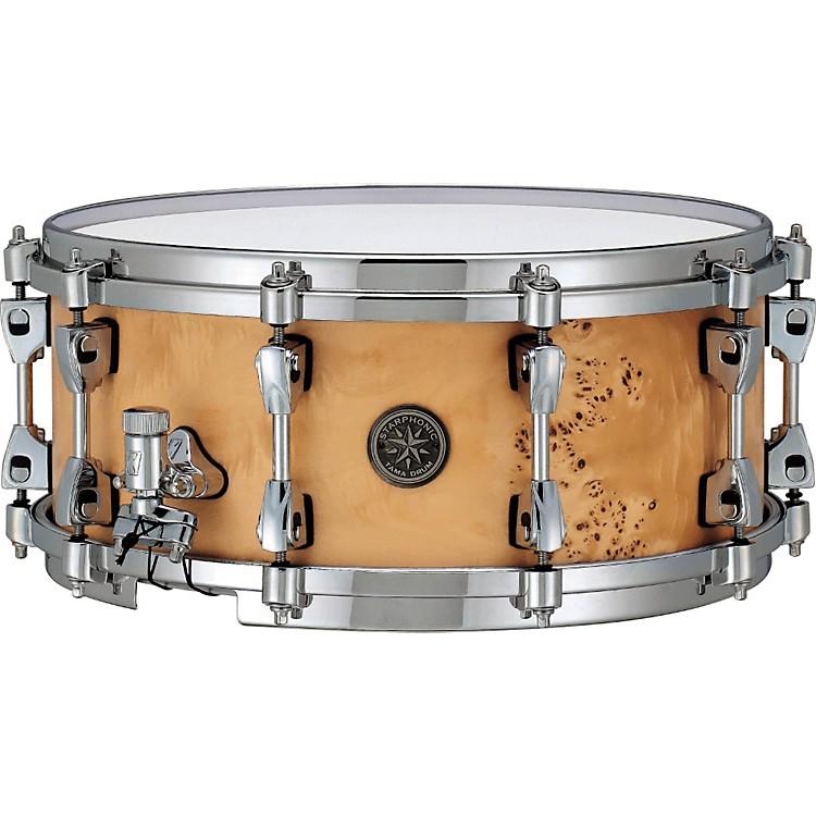 TamaStarphonic Snare DrumSatin Mappa Burl6x14