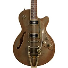 Duesenberg USA Starplayer TV Rusty Steel Semi-Hollow Electric Guitar