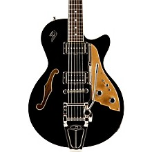Starplayer TV Semi-Hollow Electric Guitar Black