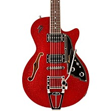 Starplayer TV Semi-Hollow Electric Guitar Red Sparkle