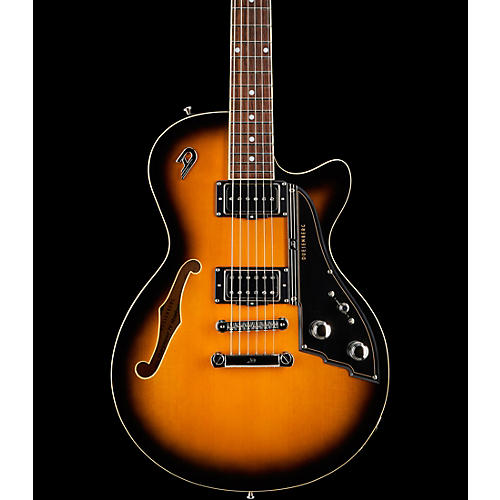 Duesenberg USA Starplayer Tv Stoptail Semi-Hollow Electric Guitar 2-Tone Sunburst