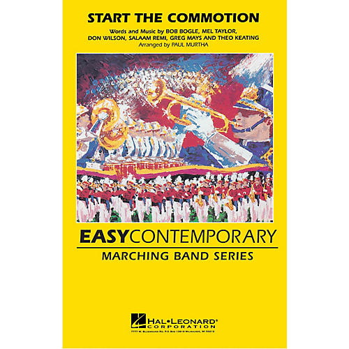 Hal Leonard Start the Commotion Marching Band Level 2-3 by The Wiseguys Arranged by Paul Murtha-thumbnail