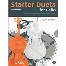 De Haske Music Starter Duets for Cello De Haske Play-Along Book Series Arranged by Rudolf Zwartjes