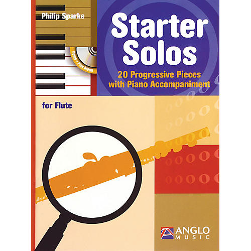 Anglo Music Starter Solos for Flute Anglo Music Press Play-Along Series Softcover with CD-thumbnail
