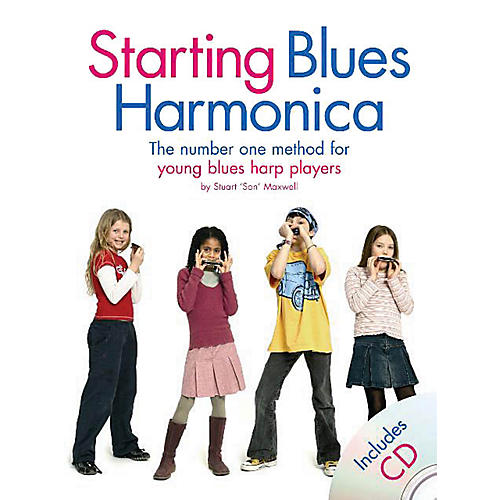 Music Sales Starting Blues Harmonica Music Sales America Series Softcover with CD Written by Stuart