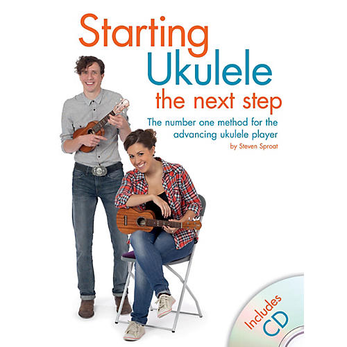 Hal Leonard Starting Ukulele - The Next Step Book/CD