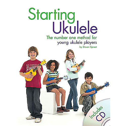 Music Sales Starting Ukulele Music Sales America Series Softcover with CD Written by Steven Sproat-thumbnail