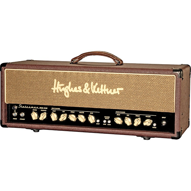 Hughes & KettnerStatesman Series STM Dual EL34 50W Tube Guitar Amp Head
