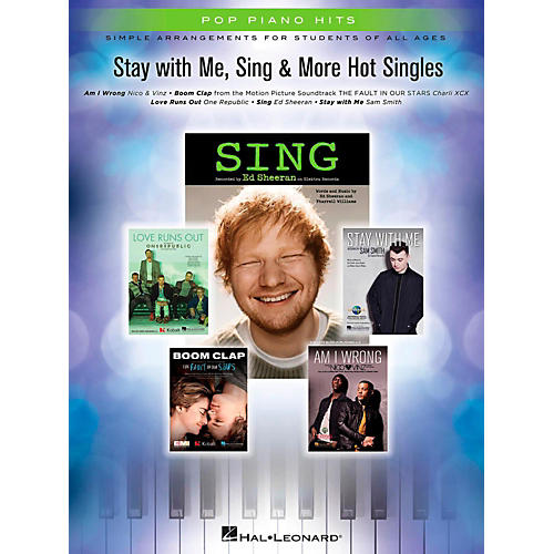 Hal Leonard Stay With Me, Sing & More Hot Singles for Easy Piano-thumbnail