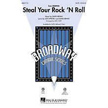 Hal Leonard Steal Your Rock 'n Roll (from Memphis) SATB arranged by Mac Huff