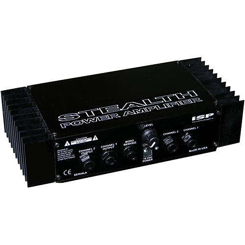 ISP Technologies Stealth Compact Floor Power Amplifier for Guitar-thumbnail