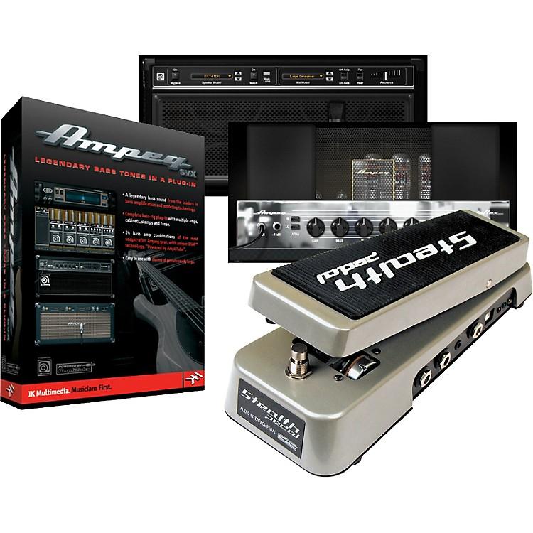 IK MultimediaStealthPedal Audio Controller/Interface + Ampeg SVX Plug-In Powered by Amplitube