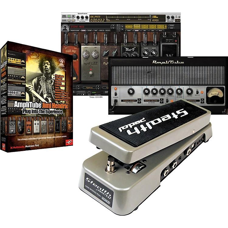 IK MultimediaStealthPedal Audio Controller/Interface + AmpliTube Hendrix Software Plug-In