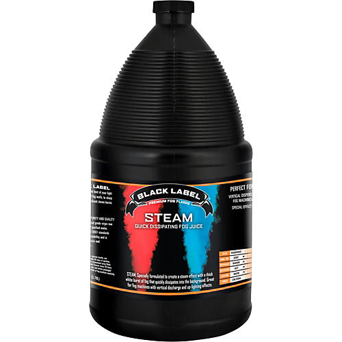 Black Label Steam Quick Dissipating Fog Juice - 1 Gallon-thumbnail