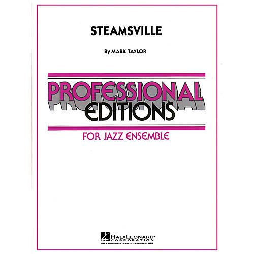 Hal Leonard Steamsville Jazz Band Level 5 Composed by Mark Taylor-thumbnail