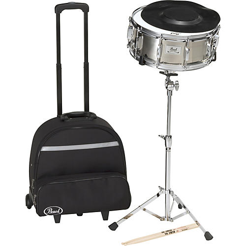 Pearl Steel Snare with Backpack-thumbnail