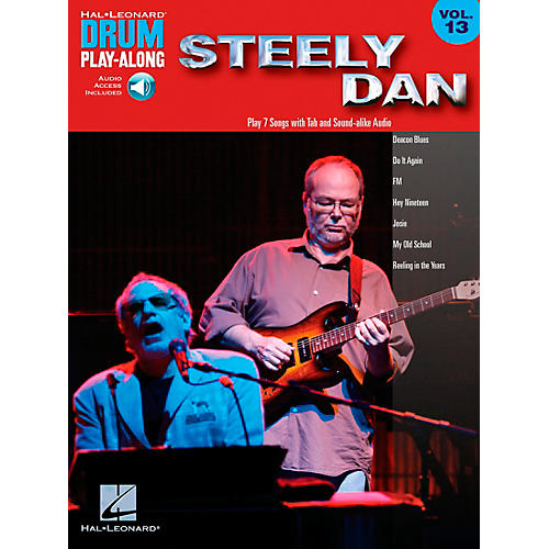 Hal Leonard Steely Dan - Drum Play-Along Volume 13 Book/CD-thumbnail