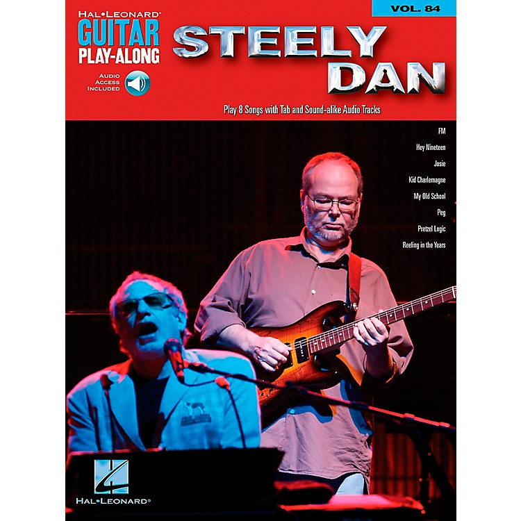 Hal Leonard Steely Dan - Guitar Play-Along Volume 84 (Book/CD)