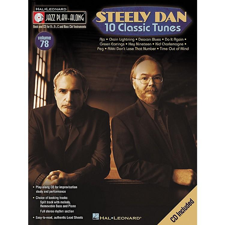 Hal LeonardSteely Dan 10 Classic Tunes - Jazz Play-Along, Volume 78 (CD/Booklet)