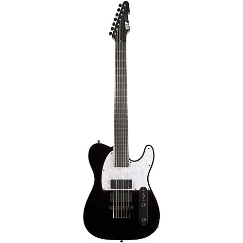 ESP Stef Carpenter T-7 Baritone Electric Guitar Black