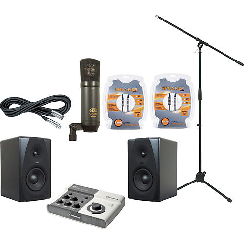 M-Audio Steinberg Ci2 and M-Audio CX5 Recording Package