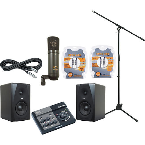 M-Audio Steinberg Ci2+ and M-Audio CX5 Recording Package