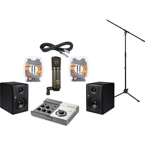 Mackie Steinberg Ci2 and Mackie MR5 Recording Package-thumbnail