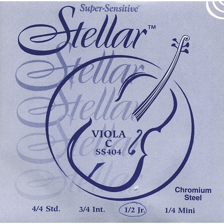 Super Sensitive Stellar Viola Strings