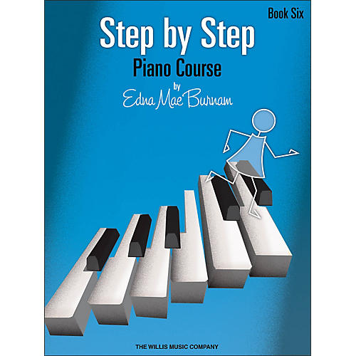 Willis Music Step By Step Piano Course Book 6