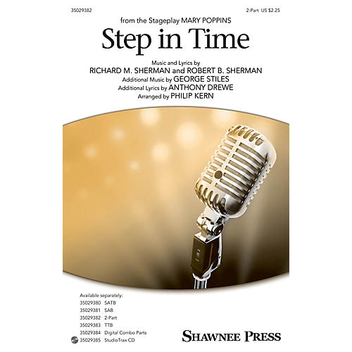 Shawnee Press Step In Time (from Mary Poppins) 2-Part arranged by Philip Kern-thumbnail
